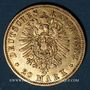 Monnaies Prusse. Guillaume I (1861-1888). 20 mark 1882A. (PTL 900/1000. 7,96 g)