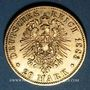Monnaies Prusse. Guillaume I (1861-1888). 20 mark 1883A. (PTL 900/1000. 7,96 g)