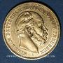 Monnaies Prusse. Guillaume I (1861-1888). 20 mark 1887A. 900 /1000. 7,96 gr