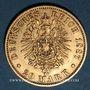 Monnaies Prusse. Guillaume I (1861-1888). 20 mark 1887A. (PTL 900/1000. 7,96 g)