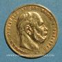 Monnaies Prusse. Guillaume I (1861-1988). 10 mark 1873 B. (PTL 900‰. 3,98 g)