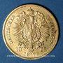 Monnaies Prusse. Guillaume I (1861-1988). 10 mark 1873B. (PTL 900/1000. 3,98 g)