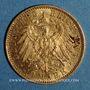 Monnaies Prusse. Guillaume II (1888-1918). 10 mark 1904 A. (PTL 900‰. 3,98 g)