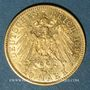Monnaies Prusse. Guillaume II (1888-1918). 20 mark 1896A. 900 /1000. 7,96 gr