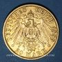 Monnaies Prusse. Guillaume II (1888-1918). 20 mark 1899A. 900 /1000. 7,96 gr