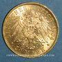 Monnaies Prusse. Guillaume II (1888-1918). 20 mark 1904 A. (PTL 900‰. 7,96 g)