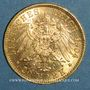 Monnaies Prusse. Guillaume II (1888-1918). 20 mark 1904A. (PTL 900/1000. 7,96 g)