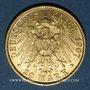 Monnaies Prusse. Guillaume II (1888-1918). 20 mark 1907A. 900 /1000. 7,96 gr