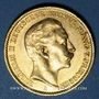Monnaies Prusse. Guillaume II (1888-1918). 20 mark 1910A. (PTL 900 /1000. 7,96 g)