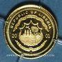 Monnaies République du Libéria. 25 dollars Jeanne d'Arc 2001. (PTL 999‰. 0,73 g)