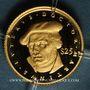 Monnaies République du Libéria. 25 dollars Martin Luther 2000. (PTL 999‰. 0,73 g)
