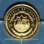 Monnaies République du Libéria. 25 dollars Nostradamus 2001. (PTL 999/1000. 0,73 g)