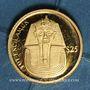 Monnaies République du Libéria. 25 dollars Toutankhamon 2000. (PTL 999‰. 0,73 g)