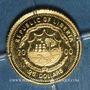 Monnaies République du Libéria. 25 dollars Toutankhamon 2000. (PTL 999/1000. 0,73 g)