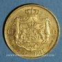 Monnaies Roumanie. Charles I, roi (1881-1914). 20 lei 1883B. (PTL 900‰. 6,45 g)