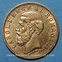 Monnaies Roumanie. Charles I, roi (1881-1914). 20 lei 1890B. (PTL 900‰. 6,45 g)