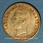 Monnaies Roumanie. Charles I, roi (1881-1914). 20 lei 1906. (PTL 900‰. 6,45 g)