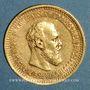 Monnaies Russie. Alexandre III (1881-1894). 5 roubles 1890. (PTL 900‰. 6,45 g)