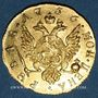 Monnaies Russie. Elisabeth I (1741-1762). 1 rouble 1756