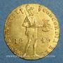 Monnaies Russie. Nicolas II (1825-1855). Ducat 1849. Saint-Petersbourg (PTL 983‰. 3, 49 g)