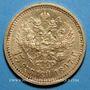 Monnaies Russie. Nicolas II (1894-1917). 15 roubles 1897. (PTL 900‰. 12,90 g)