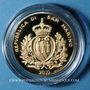 Monnaies Saint Marin. 2 scudi 2010. Trésor de Saint Marin. (PTL 900‰. 6,45 g)