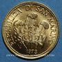 Monnaies Saint Marin. République. 2 scudi 1976. Paix. (PTL 917‰. 6 g)