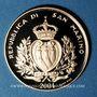 Monnaies Saint Marin. République. 2 scudi 2004. Fibule gothique. (PTL 900‰. 6,45 g)