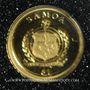 Monnaies Samoa. Monarchie parlementaire. 1 dollars 2010. (PTL 999,9‰. 0,5 g)