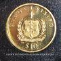 Monnaies Samoa. République. 10 tala 1995. (PTL 999,9‰. 1,24 g)