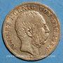 Monnaies Saxe. Albert (1873-1902). 10 mark 1875 E. (PTL 900‰. 3,98 g)