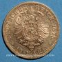 Monnaies Saxe. Albert (1873-1902). 10 mark 1875E. (PTL 900/1000. 3,98 g)