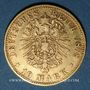 Monnaies Saxe. Albert (1873-1902). 10 mark 1878E. 900 /1000. 3,98 gr
