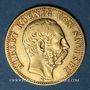 Monnaies Saxe. Albert (1873-1902). 10 mark 1878E. (PTL 900/1000. 3,98 g)