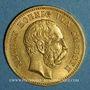 Monnaies Saxe. Albert (1873-1902). 20 mark 1874 E. (PTL 900‰. 7,96 g)