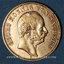 Monnaies Saxe. Georges (1902-1904). 10 mark 1903 E. (PTL 900‰. 3,98 g)