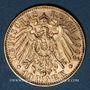 Monnaies Saxe. Georges (1902-1904). 10 mark 1903E. (PTL 900/1000. 3,98 g)