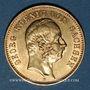 Monnaies Saxe. Georges (1902-1904). 20 mark 1903 E. (PTL 900‰. 7,96 g)