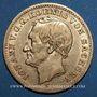 Monnaies Saxe. Jean I (1854-1873). 10 mark 1872 E. (PTL 900‰. 3,98 g)