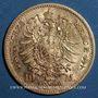 Monnaies Saxe. Jean I (1854-1873). 10 mark 1872E. (PTL 900/1000. 3,98 g)
