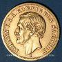 Monnaies Saxe. Jean I (1854-1873). 10 mark 1873 E. (PTL 900‰. 3,98 g)