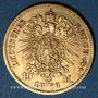 Monnaies Saxe. Jean I (1854-1873). 10 mark 1873E. (PTL 900/1000. 3,98 g)