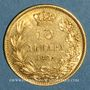 Monnaies Serbie. Milan Obrenovich IV, roi (1882-1889). 10 dinars 1882. (PTL 900‰. 3,23 g)