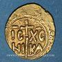Monnaies Sicile. Les Hohenstaufen. Henri VI (591-594H = 1194-1197). Tari frappé à Messine