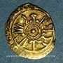 Monnaies Sicile. Les Normands. Roger II. (1105-1154). Tari, 539H. Palerme