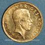 Monnaies Suède. Gustave V (1907-1950). 5 kronor 1920 W. (PTL 900‰. 2,24 g)