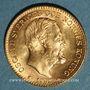 Monnaies Suède. Oscar II (1872-1907). 10 kronor 1901 EB. (PTL 900‰. 4,48 g)