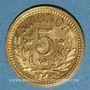 Monnaies Suède. Oscar II (1872-1907). 5 ckronor 1899EB. (PTL 900‰. 2,24 g)