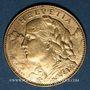 Monnaies Suisse. 10 francs 1911 B. (PTL 900‰. 3,22 g)