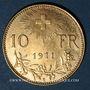 Monnaies Suisse. 10 francs 1911B. (PTL 900‰. 3,22 g)